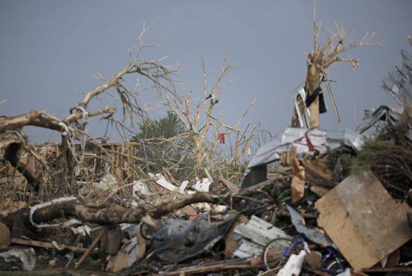 Se da la circunstancia de que en 1999 otro tornado afectó a Moore...