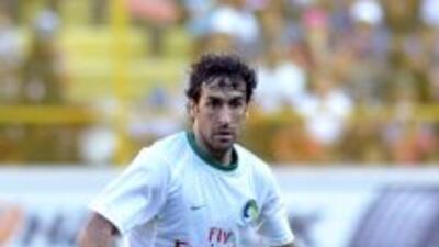 Raúl se estrenó como goleador con el Cosmos de Nueva York.