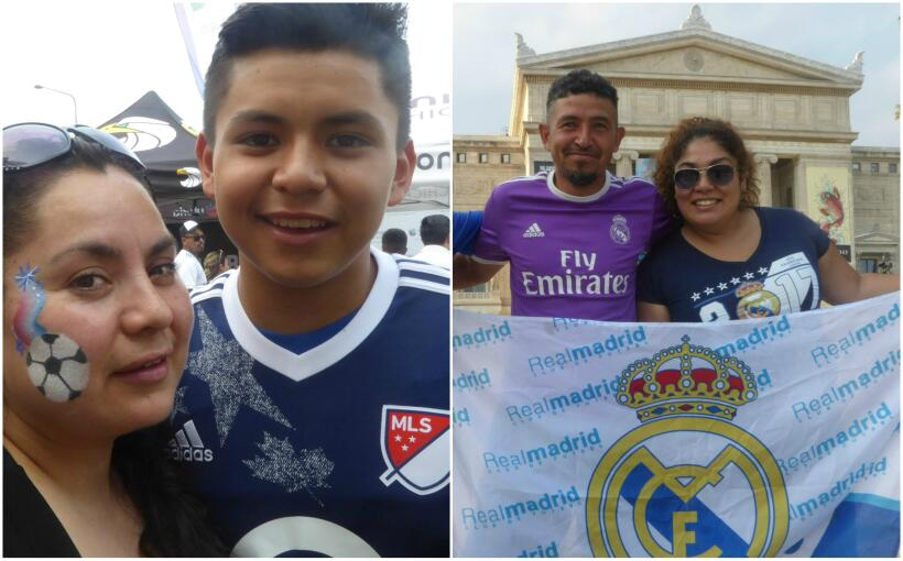 Juego MLs vs Real Madrid Chicago