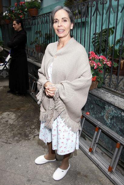 La actriz Macaria, también participa en el remake.