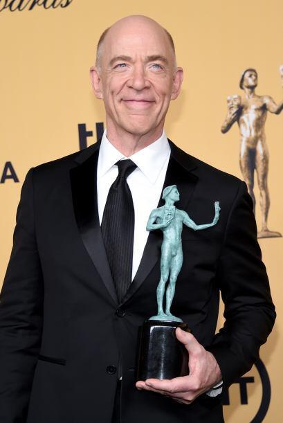 J.K. Simmons sumó otro premio al triunfar como Mejor actor de reparto, g...