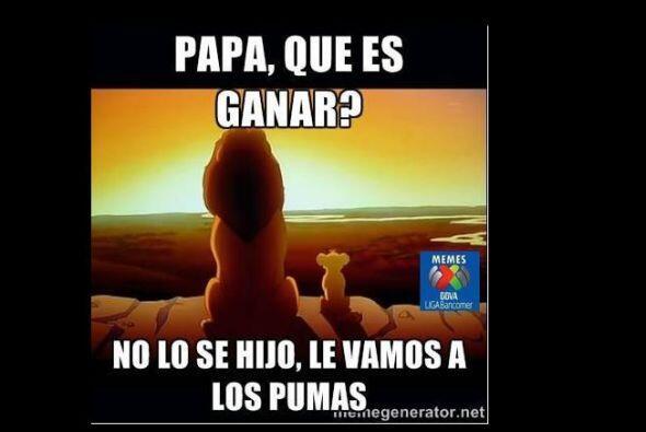 En redes sociales, los aficionados se burlaron de la mala racha de Pumas...