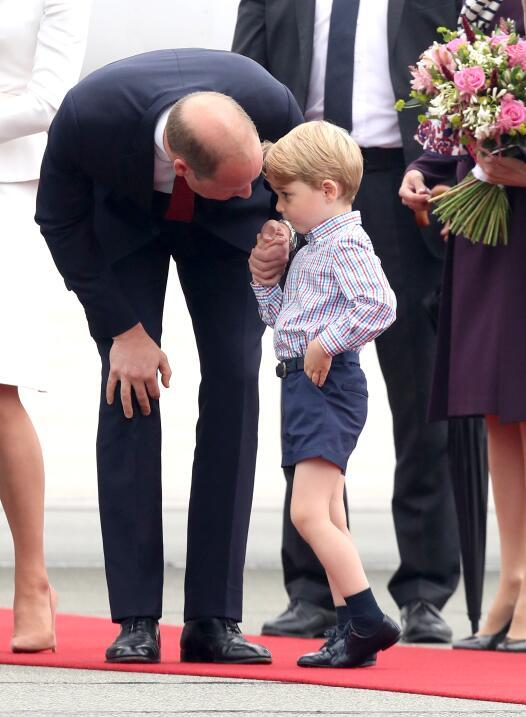 Principe George, Princesa Charlotte, principe William, duquesa de cambridge