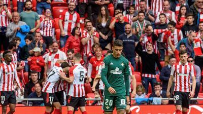 En fotos: Betis no tuvo a Guardado y cayó 2-0 contra Athletic Bilbao en la Liga de España