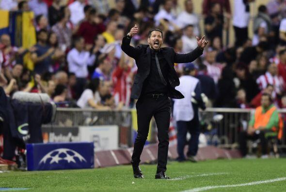 Silbatazo final y Diego Simeone fue el encargado de gritar con mayor fue...