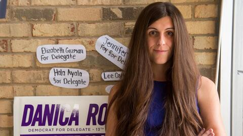 Danica Roem se convirtió en la primera transgénero elegida...