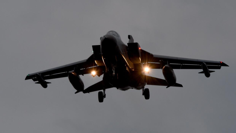 Avión Tornado de la Fuerza Aérea de Alemania
