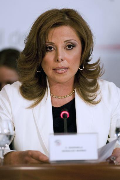 Marisela Morales, titular de la Procuraduría General de la República ha...