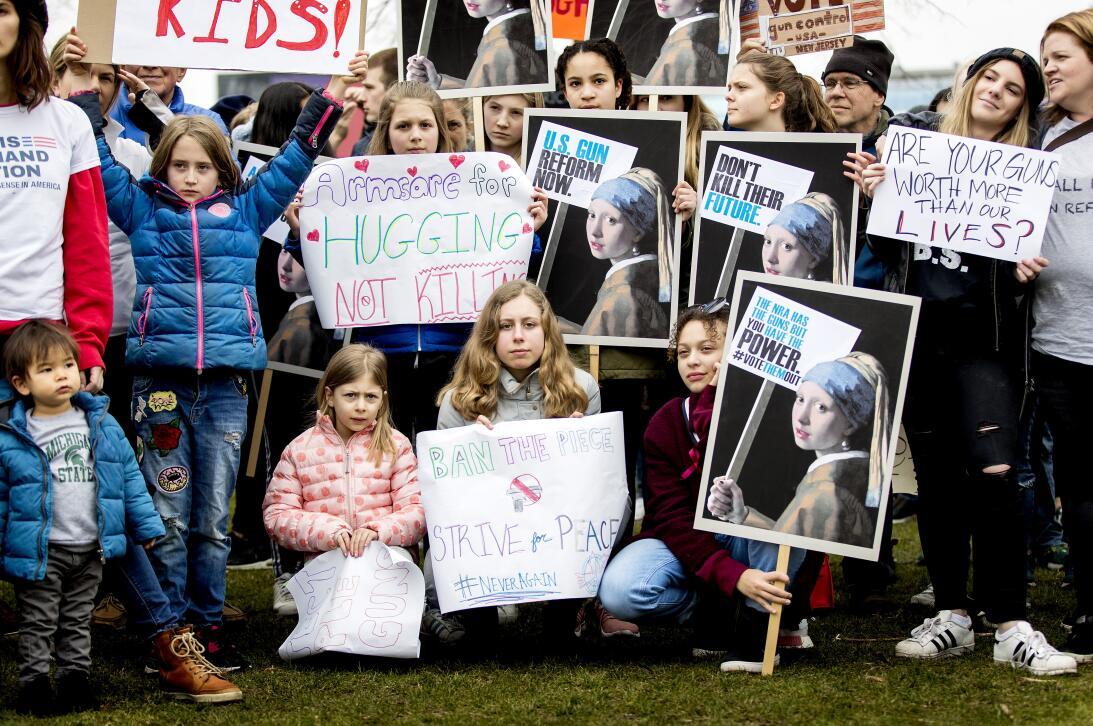Marcha en el mundo Holanda