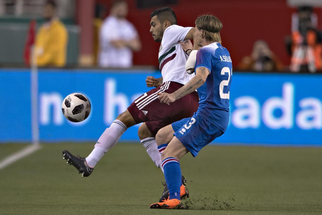 En fotos: México se impuso 3-0 contra Islandia y se llena de confianza c...