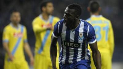 El colombiano Martínez hizo el gol con el que los 'Dragones' aventajan a...