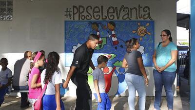 Las clases están volviendo a la normalidad en Puerto Rico luego del paso...
