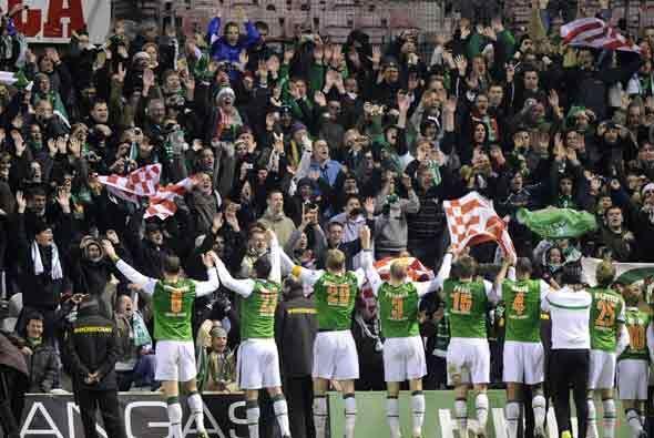 El Werder Bremen le ganó al Athletic de Bilbao. Ambos se metieron en la...