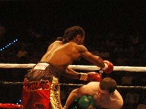 En otra velada de boxeo de 'Warriors Boxing', Danny O'Connor se enfrent&...