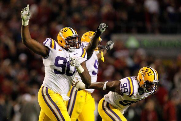 Michael Brockers, Tackle Defensivo, Louisiana State.