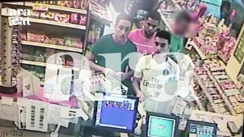 Las últimas imágenes de los atacantes antes del atentado en Cambrils