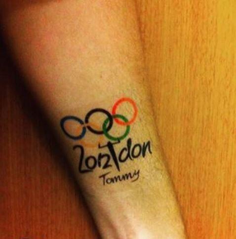 Las deportistas plasmaron en su pieels  su primera experiencia olímpica.