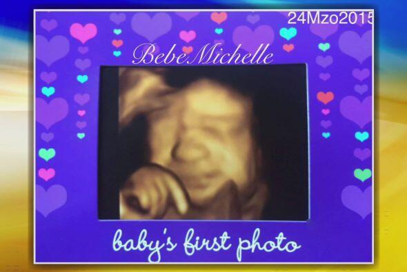 ¡Qué bello momento! La primer foto de Baby Michelle