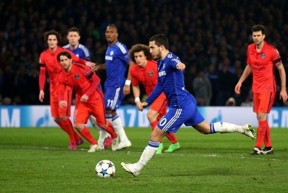 En tiempo extra Hazard marcaría el segundo del Chelsea tras una mano de...