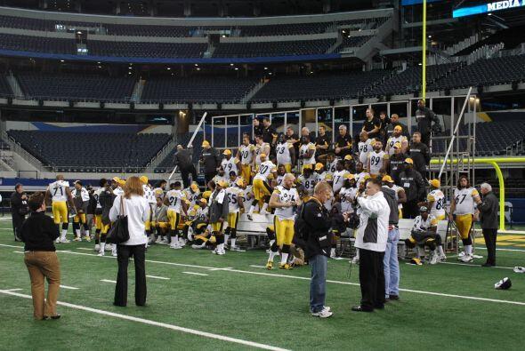 Los Steelers van en búsqueda de su séptimo Super Bowl.