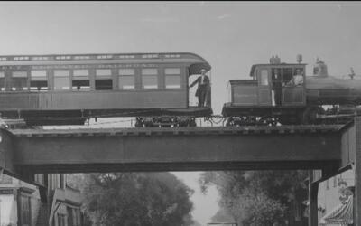 Celebran el aniversario 125 del histórico tren elevado de Chicago