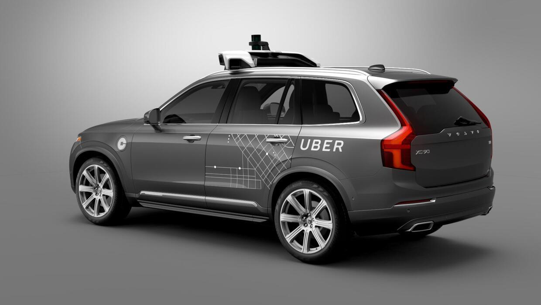 Para finales de este año Uber contará con una flota de Volvos XC90 híbri...