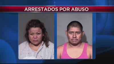 Padres acusados de brutalidad infantil