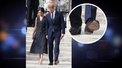 El look de la semana se lo lleva los zapatos rotos del príncipe Harry y Jomari nos dice por qué