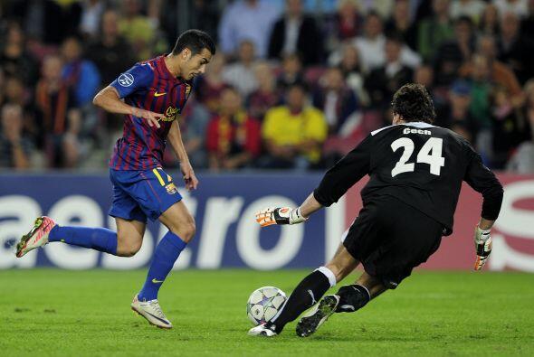 Barcelona tuvo muchas chances en la primera etapa pero no pudieron concr...