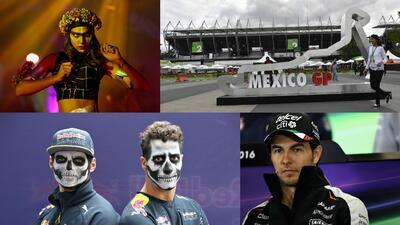 La F-1 vive ya el Día de los Muertos en el GP de México