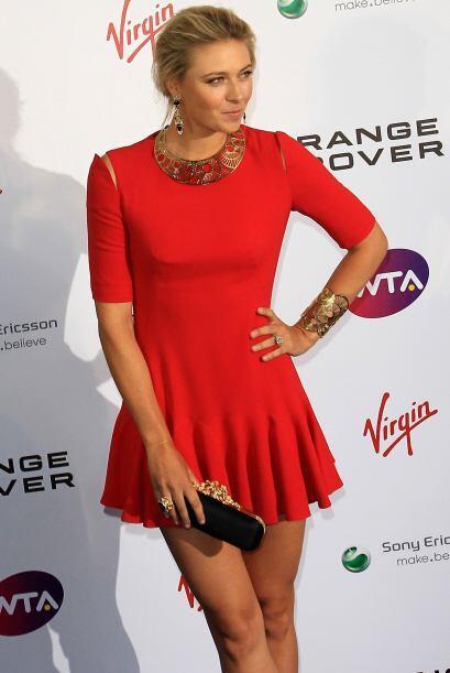 En agosto de 2005, Sharapova fue la número uno del mundo, si se lleva la...