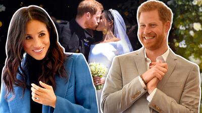 Meghan Markle revela que su vestido de novia escondía un pedazo del traje que usó en la primera cita con Harry