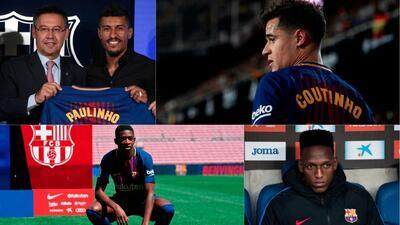 Fichajes del Barcelona post Neymar: entre la discreción y la decepción