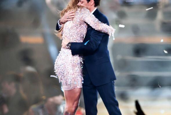 Jennifer Lopez y Marc Anthony cuando eran un feliz matrimonio.  Mira los...