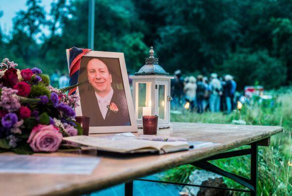 Una foto del belga   Benoit   Chardome  , una de   las víctimas del   av...