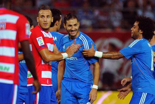 Benzema hilaba dos partidos marcando gol.