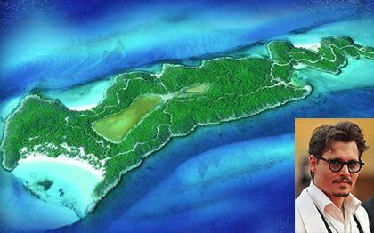 El famoso actor de piratas del caribe Joohny Depp le puso a su isla Litt...