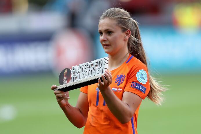 1. Lieke Mertens (Holanda / F.C. Barcelona) - 165 puntos