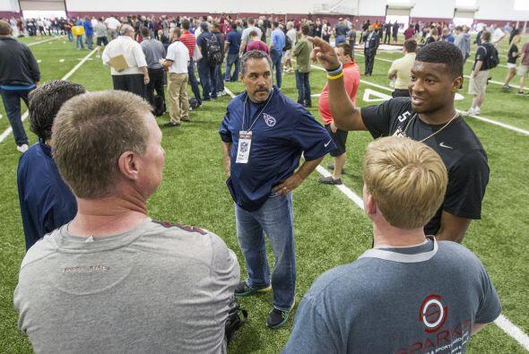 Con opiniones divididas terminó el pro day de Florida State donde el QB...