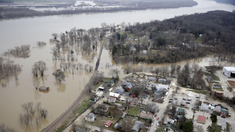 24 muertos por inundaciones del Mississippi