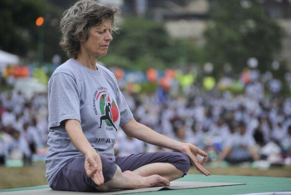 Yoga en Nairobi.
