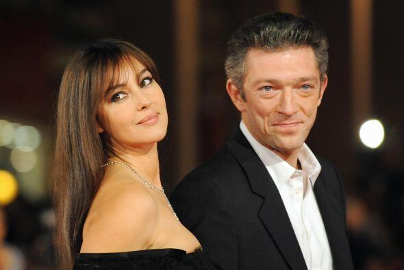Casi por terminar el mes de agosto, Monica Belluci y Vincent Cassel conm...