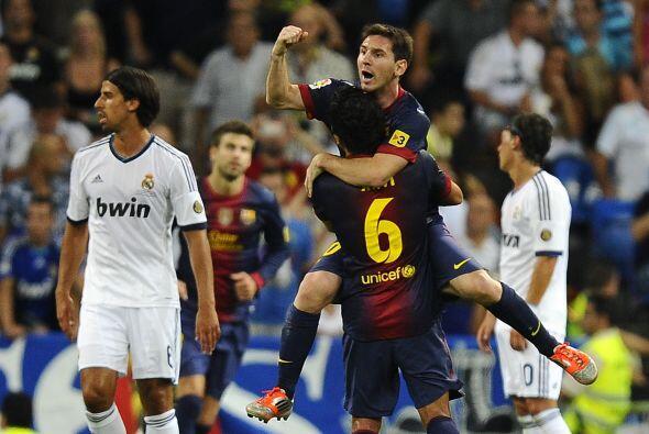 Un gol que nadie se esperaba por el claro dominio madridista.