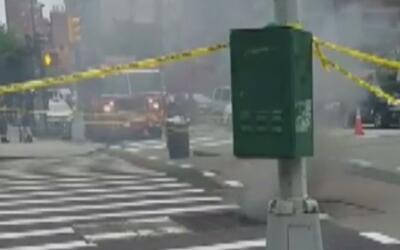 Alarma por la explosión de varias alcantarillas en Manhattan