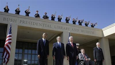 Los cinco expresidentes vivientes del país planean asistir al con...