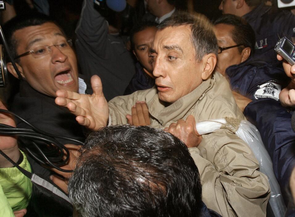 El exgobernador Mario Villanueva en 2007