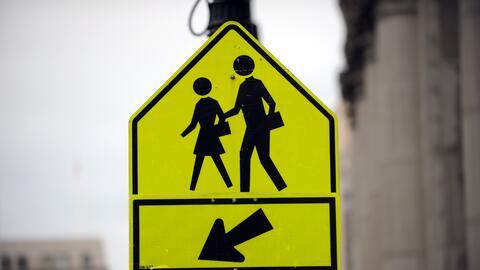 Una señal peatonal podría hacer la diferencia para evitar...
