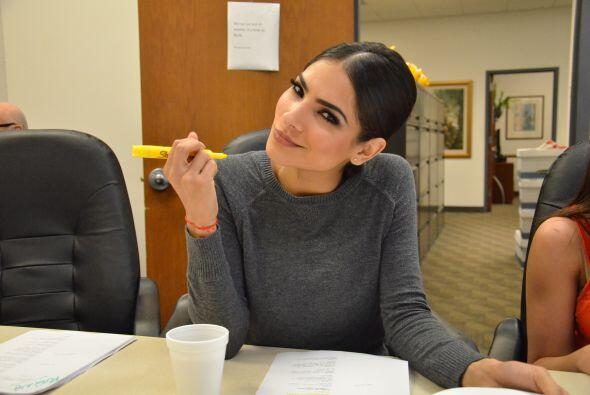 Muy aplicada Alejandra en el estudio de todos los detalles del programa,...