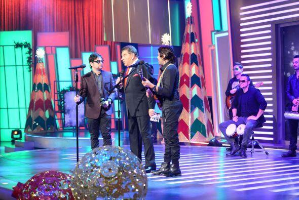 El dueto venezolano, Servando y Florentino, llegaron al programa para im...