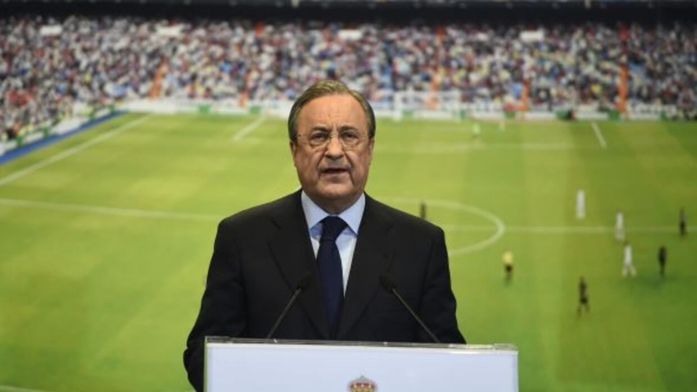 El presidente del Real Madrid firmó un acuerdo con una empresa de Abu Da...